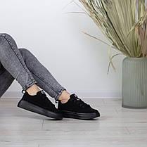 Кеды женские Fashion Apachie 2515 38 размер 24,5 см Черный, фото 2