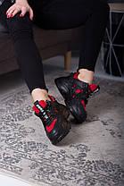 Кросівки жіночі Fashion Arlena 2549 36 розмір 23 см Чорний 38, фото 3