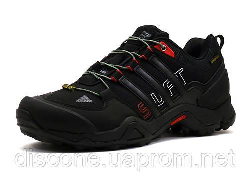 Кроссовки Adidas Terrex, мужские, текстильные черные с красным