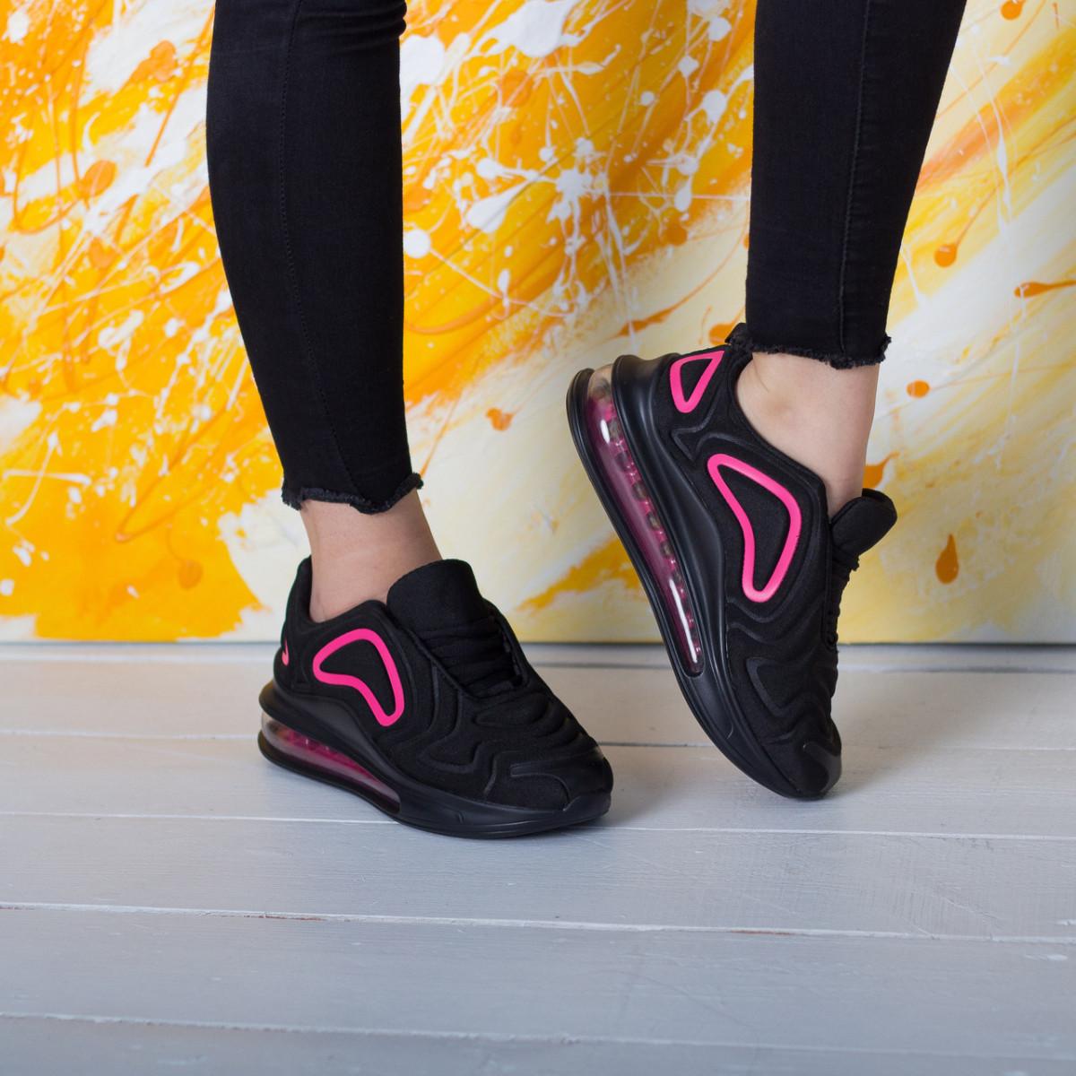 Кроссовки женские Fashion Babirusa 2585 36 размер 23,5 см Черный