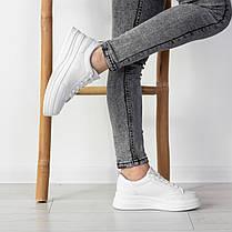 Кросівки жіночі Fashion Boggs 2525 36 розмір 22,5 см Білий 38, фото 3