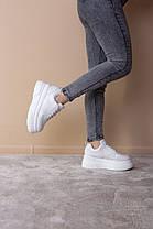 Сникеры женские Fashion Bowser 2528 36 размер 23 см Белый, фото 2