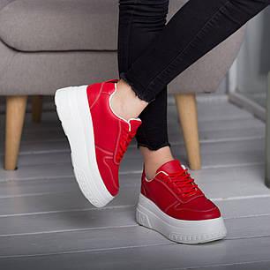 Сникеры женские Fashion Bowser 2599 37 размер 23,5 см Красный, фото 2