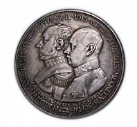 5 марок 1915 года 100 лет герцогству Мекленбург Шверин №202 копия