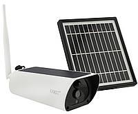 Уличная аккумуляторная IP камера видеонаблюдения UKC Y9 2 mp с солнечной панелью (7585)