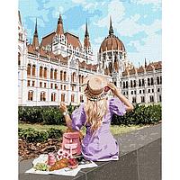 """Картина по номерам. """"Выходные в Будапеште"""" 40*50см KHO4780"""