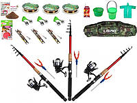 Рыболовный набор, Готовые наборы для рыбалки, Комплекты рыболовные, Набор рыболова, Набор рыболовных снастей!