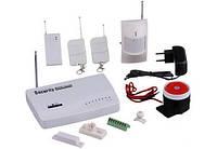 Сигнализация для дома GSM с датчиком движения JYX G200 (3_6625)
