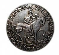 1606 г Германский талер Шварцбург-Рудольфштадт серебро копия №211 копия