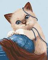 """Картина по номерам. Art Craft """"Игривый котенок"""" 30*38 см 11627-AC"""