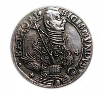 Талер 1595 Князь Сигизмунд Батори копия серебряной монеты Трансельвания №214 копия