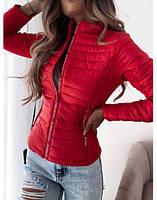 """Куртка жіноча демісезонна стильна, розмір 42-46 (2цв) """"NICOLE"""" купити недорого від прямого постачальника"""