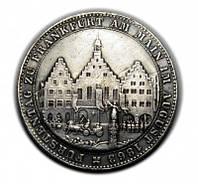 1 талер 1863 года Франкфурт на Майне Ассамблея, сейм Германия №215 копия