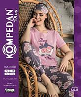 Женская молодежная пижама Турецкий трикотаж