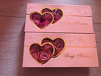 Розы из мыльного раствора   (10 роз в подарочной коробке)