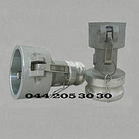 БРС Камлок  EE5032 ( Camlock) тип DA — Переходник: муфта тип D - штуцер тип A