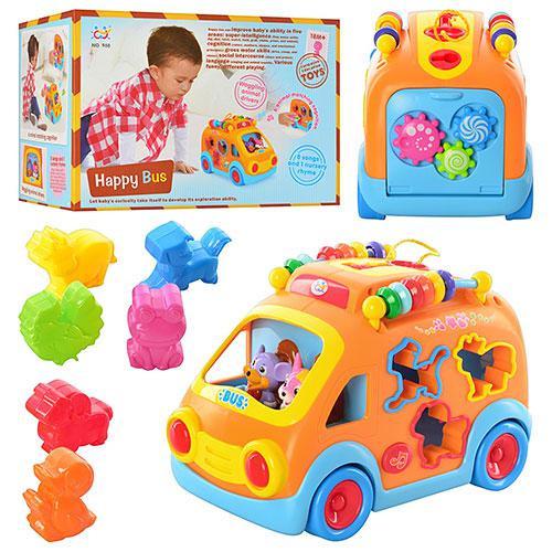 """Музыкальная игрушка """"Автобус - сортер"""" арт. 988"""