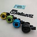 Звонок на велосипед разноцветный, фото 2