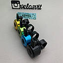 Дзвінок на велосипед різнобарвний, фото 9