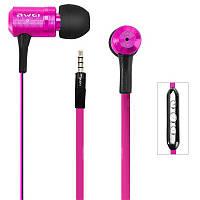 Навушники Awei TS130Vi Pink