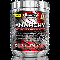 Muscletech®ПредтреникиMT Anarchy Yohimbe, 303 g Это мощный предтренировочник с концентрированным составом