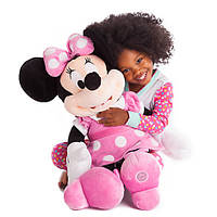 Мягкая игрушка Дисней Минни Маус Minnie Mouse Plush - Pink - Large - 70 см
