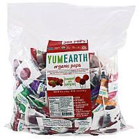 Конфеты-леденцы на палочке Ассорти, Yummy Earth, 300 шт, скидка