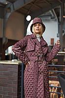 Стильне жіноче пальто в 5 кольорах ПВ-245