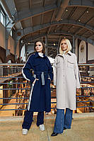 Стильне жіноче пальто в 3х кольорах ПВ-244