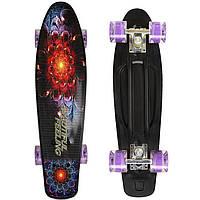 Скейт Пенни борд Penny Board Пенні - пенни борд для девочки, мальчика