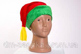Новогодняя шапочка-колпак
