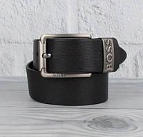 Ремень кожаный под джинсы черный 8208-404-1