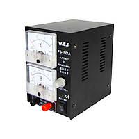 Блок питания WEP PS-1501A с аналоговой индикацией, компактный
