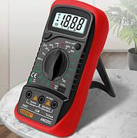 Портативный электронный цифровой мультиметр AN8205C (тестер)