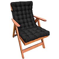Матрас на кресло с кантом серия Classic Black 104х48х7