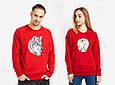 """Парные футболки """"Волк и волчица"""", фото 2"""