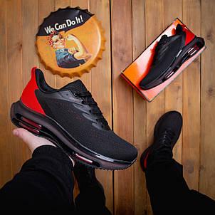 Кроссовки мужские Дифено-рейдж черные с красным 43,44,46, фото 2
