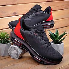 Кроссовки мужские Дифено-рейдж черные с красным 43,44,46, фото 3