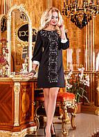 Платье-туника узор с перфорацией,скл№2
