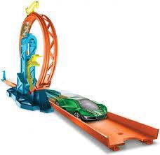 Трек Hot Wheels Track builder Петля з прискорювачем GLC90 Хот Вилс Оригинал