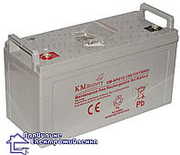 Гелева акумуляторна батарея KM-NPG12-130, фото 1