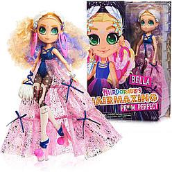 Hairdorables Hairmazing Prom Perfect Fashion Dolls, Bella  Большая Кукла Хэрдораблс Белла  2 серия Оригинал!