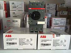 Автомат защиты и ручного пуска электродвигателей ABB MS116