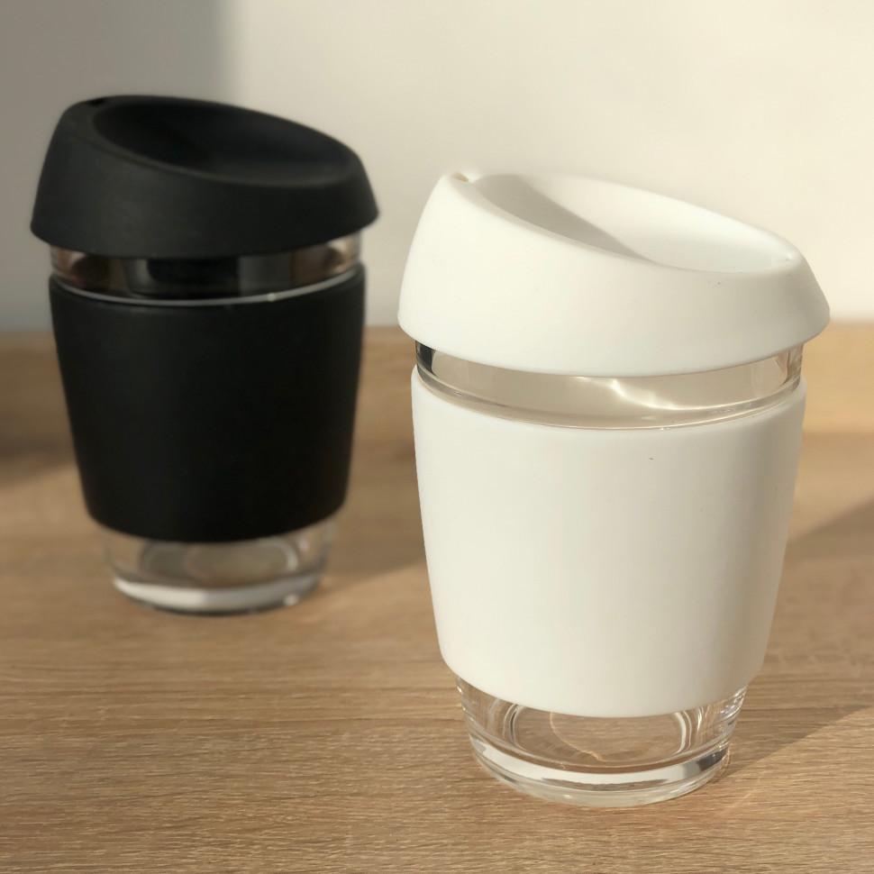 Стеклянный кофейный стакан Sip 350 мл