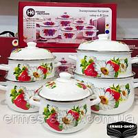 Набор эмалированной посуды Higher Kitchen НК-309, фото 4