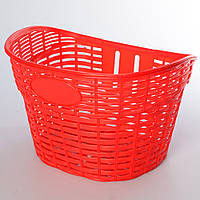 Корзина AS1908 (1шт) для 12-16д,пластик,размер 26-17-20см, красный