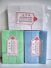 Серветки безворсові для манікюру Christian одноразові нарізні 4х6 см в упаковці 900 шт CPR-76