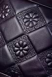 Женская сумка черная с брелком код 7-999, фото 5