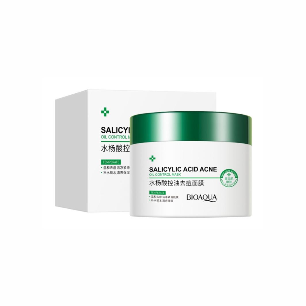 Нічна маска для обличчя з саліциловою кислотою Bioaqua Salicylic Acid Acne Oil Control Mask