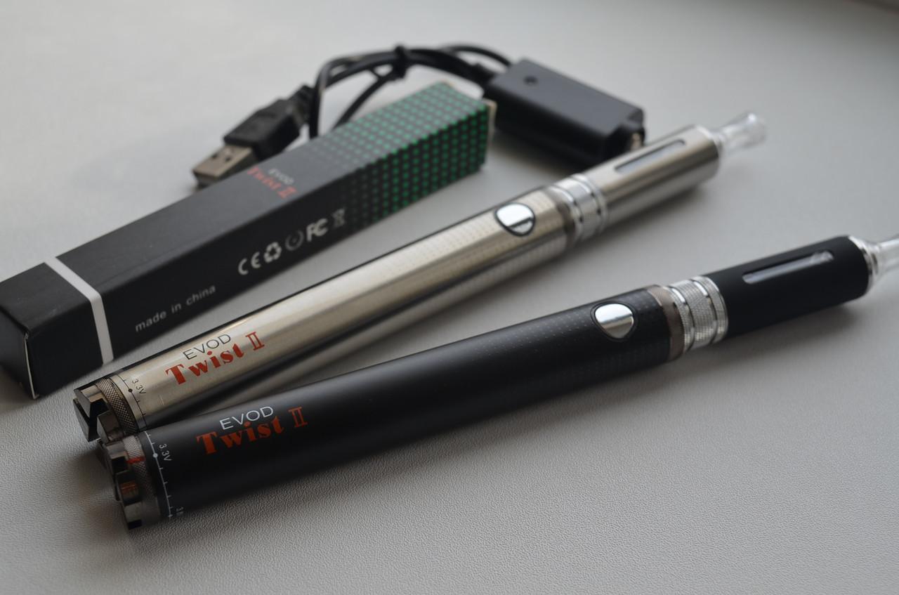 Электронная сигарета EVOD Twist 2 1650mAh +MT3s